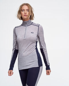 Lam Wool Half Zip – 100% Merino Wool, , hi-res
