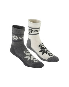 RUSA WOOL SOCK 2PK, , hi-res