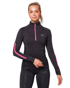 TOVE HALF ZIP TOP, , hi-res