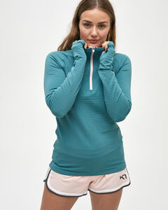 MARIT HALF ZIP, , hi-res